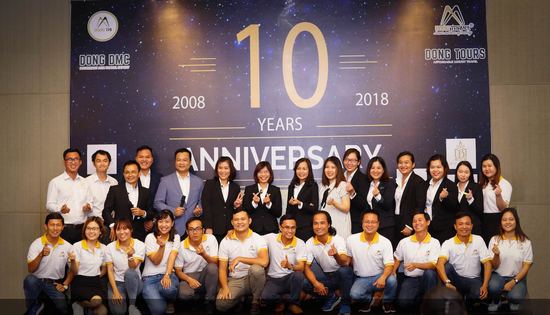 The Team at 10 years anniversary